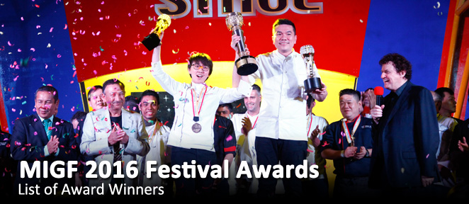 Festival Awards 2016 Slider